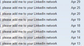 please add me to your linkedin network